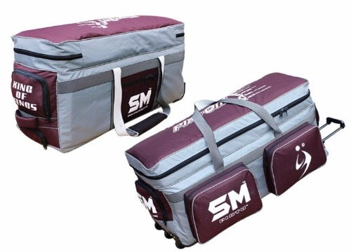 0ac20324e SM KING of KINGS Cricket Kit Bag - International Pro Level with Wheels