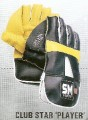 SM CLUB STAR Players YOUTH SIZE Cricket Wicket Keeping Gloves