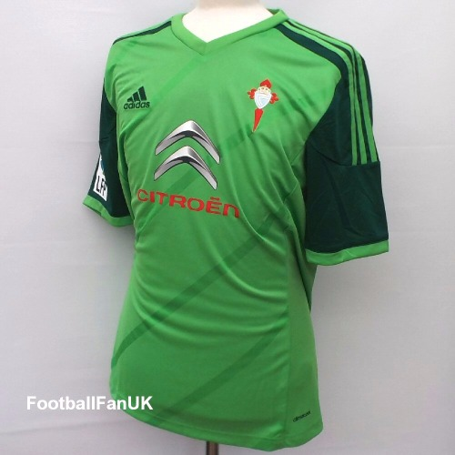 86a4f520eb CELTA VIGO Adidas Away Shirt 2014 15 Medium - Football Fan UK