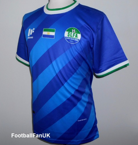 980d936836d SIERRA LEONE Mafro Sports Official Home Shirt 2017-2018 Large - Football  Fan UK