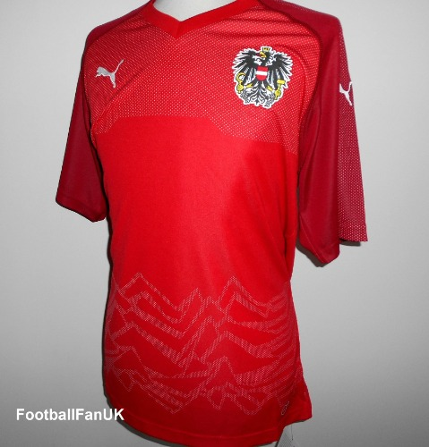 2e3e2171b AUSTRIA Puma Home Shirt 2018-2020 XL - Football Fan UK