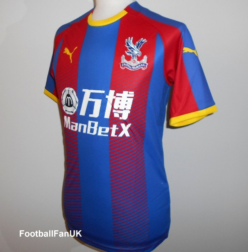 be469cab460f CRYSTAL PALACE FC Puma Home Shirt 2018-2019 Large - Football Fan UK