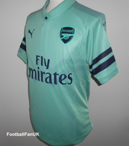 48ee64803c6 ARSENAL FC Puma Third Shirt 2018-2019 Medium - Football Fan UK
