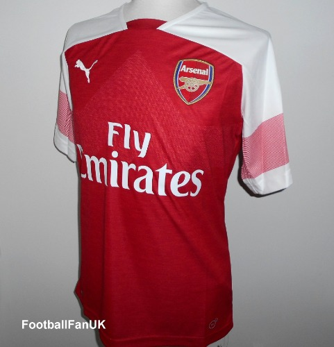 b0f882d9fcb ARSENAL FC Puma Home Shirt 2018-2019 XL - Football Fan UK
