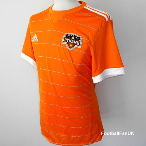 wholesale dealer beec2 88b01 HOUSTON DYNAMO Adidas Home Shirt 2018 Large