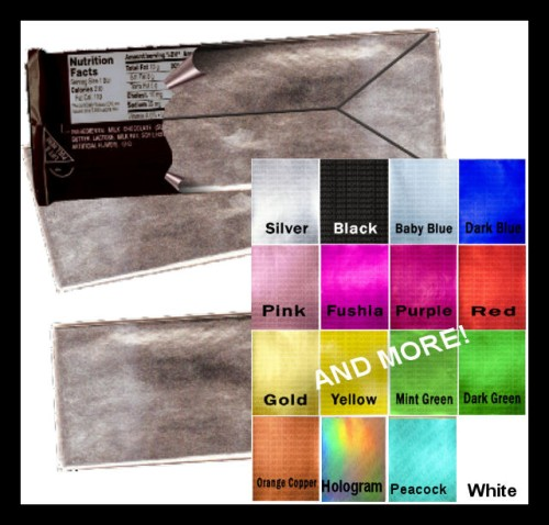 Colored Foil Sheets - 1.55 oz. size - Sweetly Designed