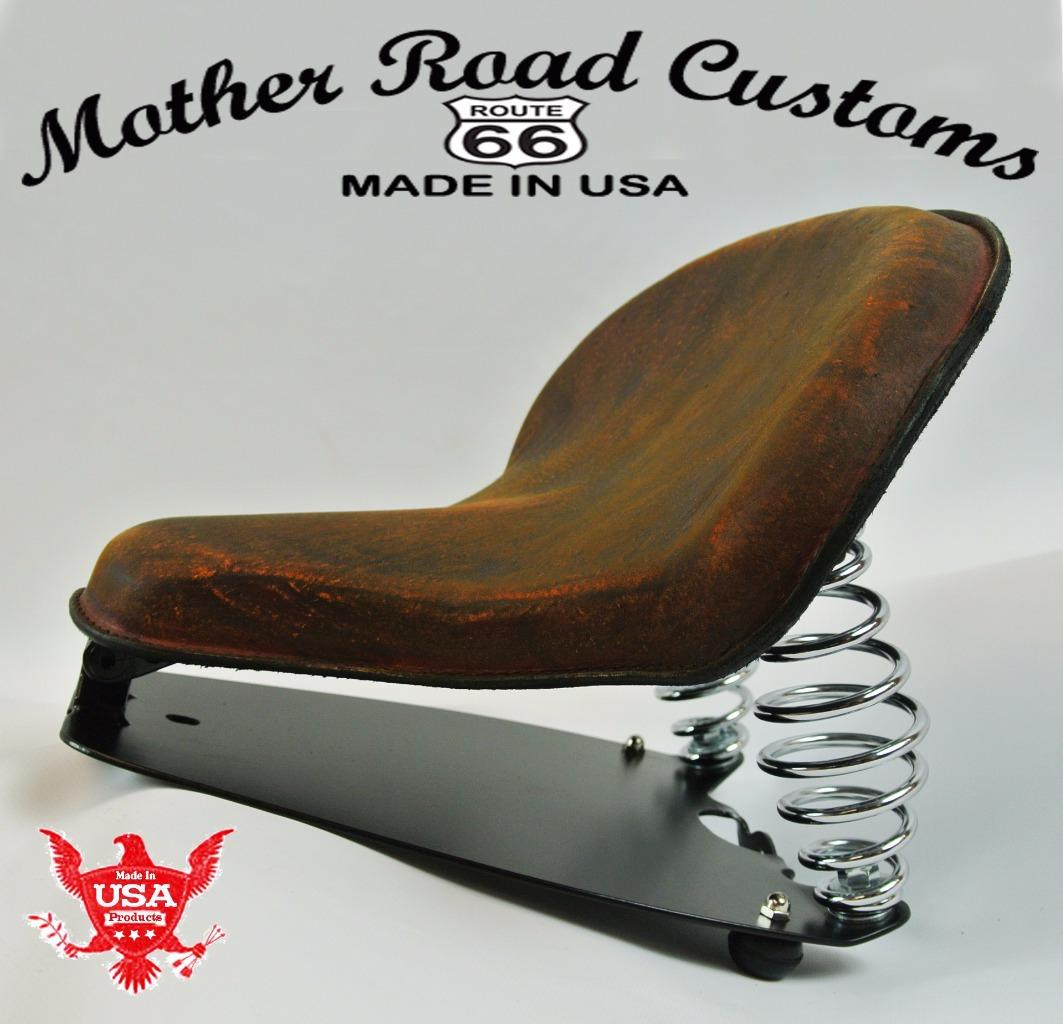 2015 2018 Indian Scout Spring Tractor Seat 15x14 Quot Brown
