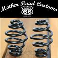 "Black Powder Coated 3"" coil motorcycle seat springs chopper harley sportster USA"