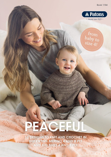 Peaceful 4 8ply Knitting Pattern Book Jannz Crafts