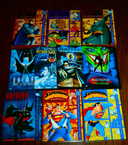 Batman Advs DVD lot
