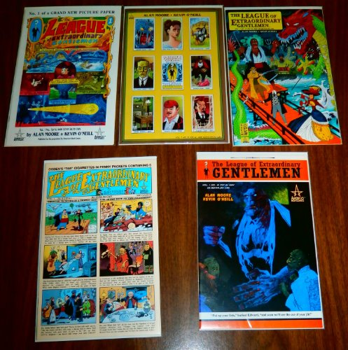 League of Extraordinary Gentlemen lot