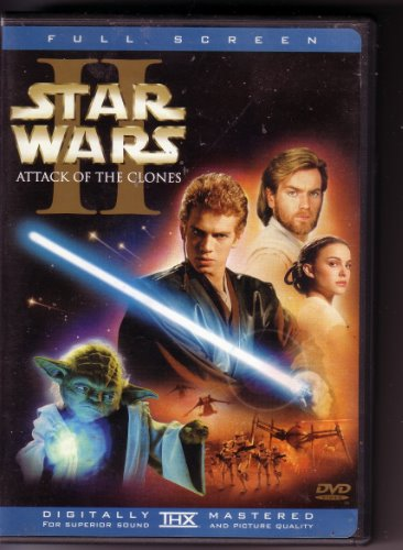 Star Wars  Attack of the Clones DVD FS