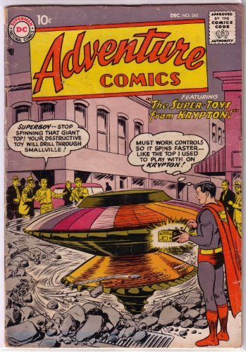 Adventure Comics   1st   243