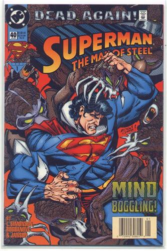Superman Man Of Steel 40 GD Dead Again