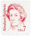 Scott #1850 7-Cent Abraham Baldwin Single - MNH.jpg