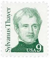 Scott #1852 9-Cent Sylvanus Thayer Single - MNH.jpg