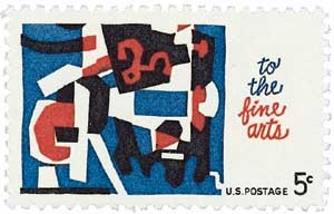 Scott #1259 5c The Fine Arts - MNH.jpg