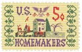 Scott #1253 5c Homemakers of America - MNH.jpg