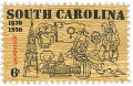 Scott #1407 6c South Carolina Tercentenary - mnh.jpg