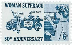 Scott #1406 6c Woman Suffrage - MNH.jpg