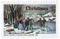 Scott #1702 13c Christmas Winter Pastime Andriotti Press - MNH.jpg