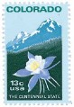 Scott #1711 13c Colorado Statehood - MNH.jpg