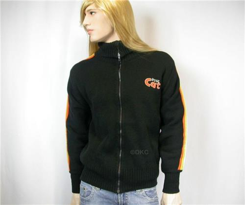 Vintage Arctic Cat Collectibles - Mens 1979 L Arcticwear Cross Country Sweater EUC