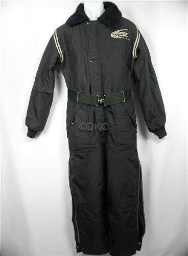 1970 Arctic Cat vintage one-piece coverall snowmobile suit ArcticWear-adult sz 4_Img