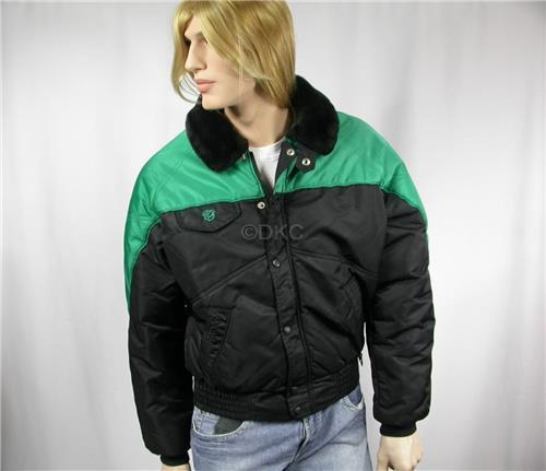 Arctic Cat Snowmobiles 1980s Men's Med - vintage insulated winter jacket