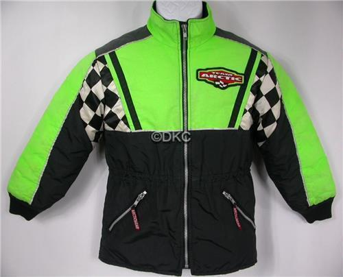 Arctic Cat Child's TEAM Coat - Snowmobiling - Size 10 - Arctic Wear - Thinsulate Ultra