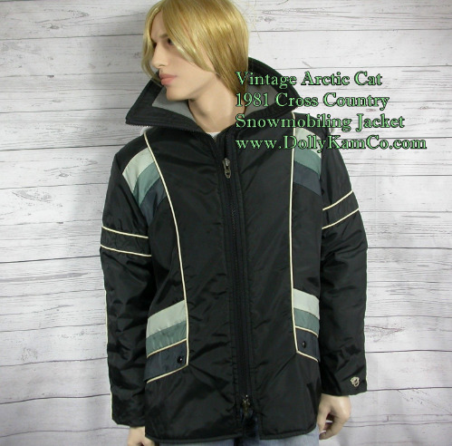 537 1981 Arctic Cat Mens Cross Country jacket (dollykamco)