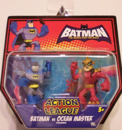 Batman vs Ocean Master - Brave And Bold - Action League.JPG