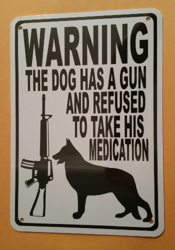 GERMAN SHEPHERD - MEDICATION HA47
