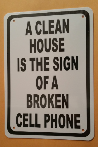 CLEAN HOUSE BROKEN PHONE HA10