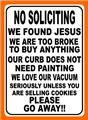 No Soliciting Vac