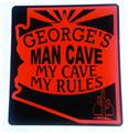 Arizona Personalized Man Cave Sign