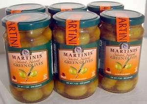 Martinis Greek Green Olives withPit, SuperOlive
