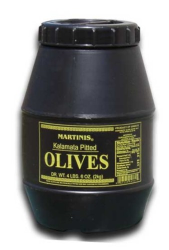 Martinis Greek Kalamata Pitted Olives, SuperOlive