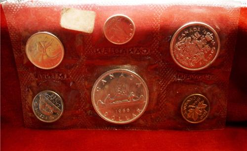 1966 Canada Proof Like Coin Set