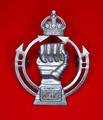 RCAC Royal Canadian Armoured Corps Metal Hat Cap Badge - FRONT.jpeg