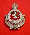 Governor General's Horse Guards white metal Cap Badge - FRONT.jpeg