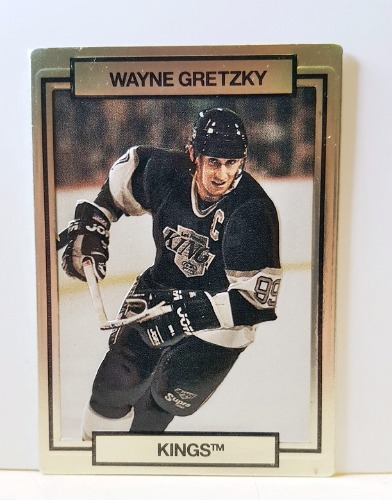 Action Packed WAYNE GRETZKY - Front Card