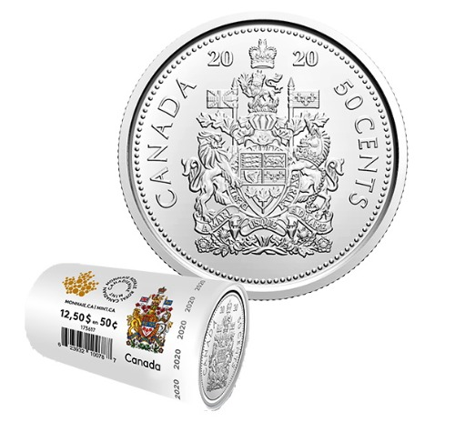 50-cent Special Wrap Circulation Roll (2020) 1