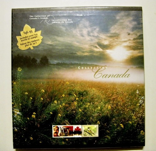 1998 CANADA STAMP COLLECTION.jpeg