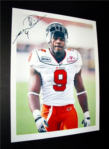 Keron Williams BC Lions Auto Photo.jpeg