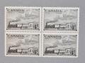 Canada 1951 Trains of 1851 & 1951 Block of 4 Scott #311.jpeg