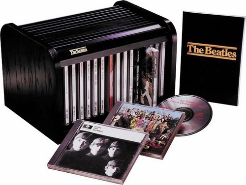 Beatles 16 Cd Limited Edition Box Set Collection In Roll