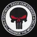 3 of this patch US Navy SEAL God Will Judge Our Enemies, We'll Arrang the Meeting Patch White.jpeg