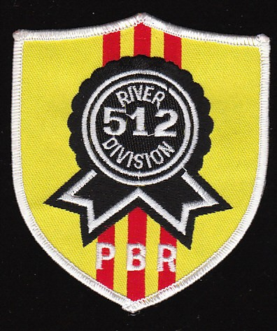 US Navy RIVDIV-512 River Division Vietnam Military Patch.jpeg