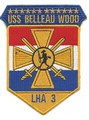 US Navy LHA-3 USS Belleau Wood Amphibious Assault Ship Patch 001.jpeg